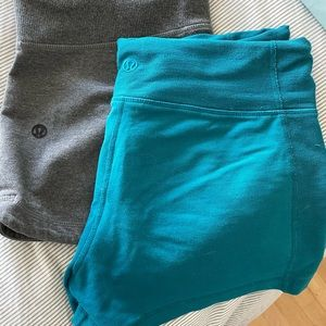 Lululemon shorts. Good condition. Size 4 & 6